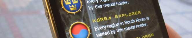 Korea Explorer medaljer
