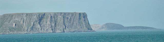 Nordkap. Fotolicens: Public domain
